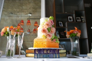 Frisco-Wedding-Planner-St.-Joseph-Catholic-Church-and-NYLO-Hotel-Plano-Orange-Peach-Wedding-23