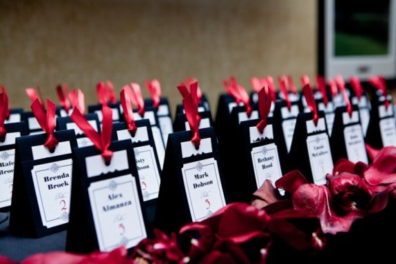 Escort Cards Katie Cassidy Photography