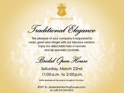 Grand Hotel Bridal Open House