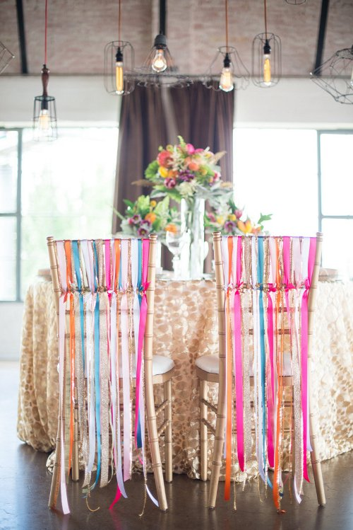 Let Love Sparkle Wedding Table