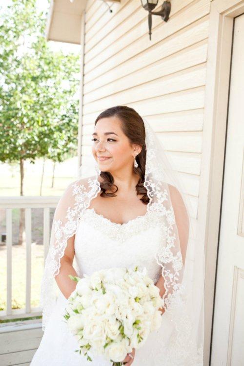 katie cassidy photography, bridal portrait,front porch,lace veil