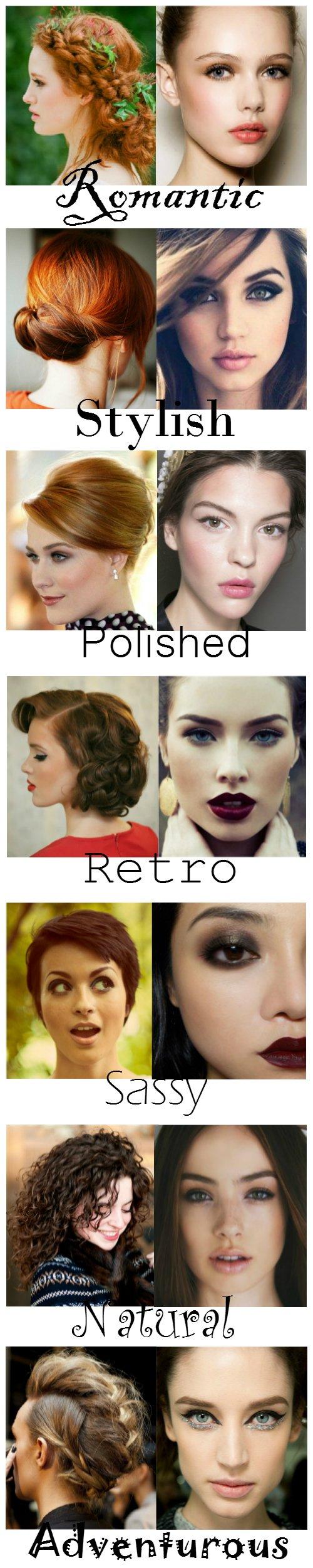 stylish,polished,romantic,natural,sassy,retro,adventurous