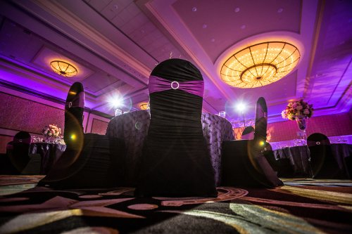 Chair covers Gaylord Hotel