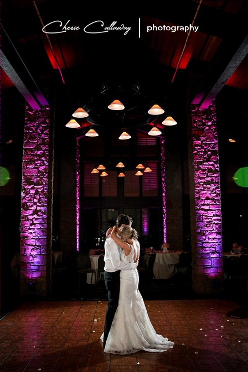 Uplighting Dallas wedding