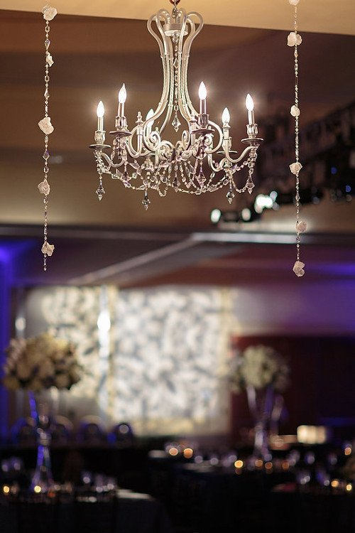 Chandelier Dallas wedding