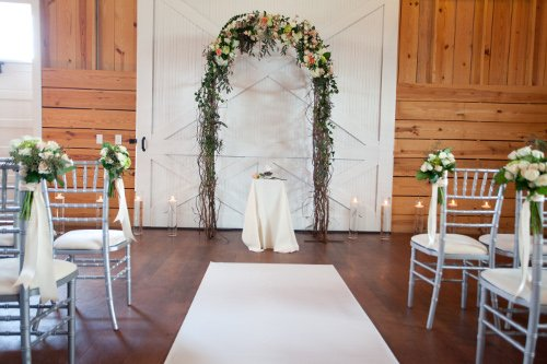 Ceremony arch Frisco Heritage Center