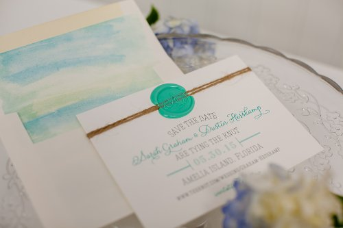 Watercolor save the date 5 by 7 Designs