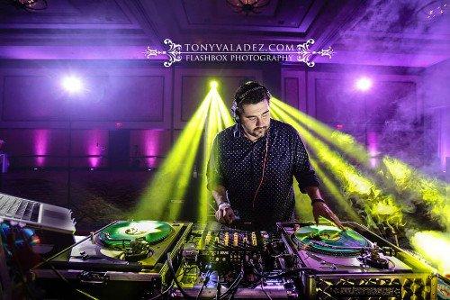 Working with a DJ