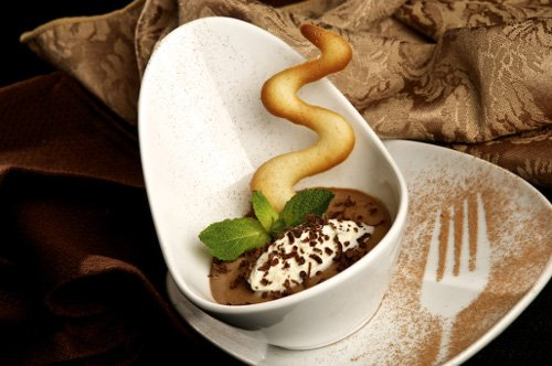 CN Catering Kahlua and Chocolate Pot De Creme 500