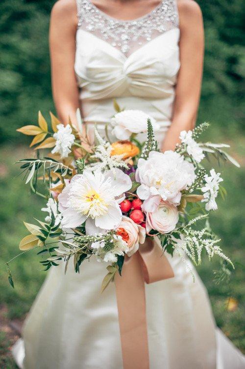 we+you wedding bouquet