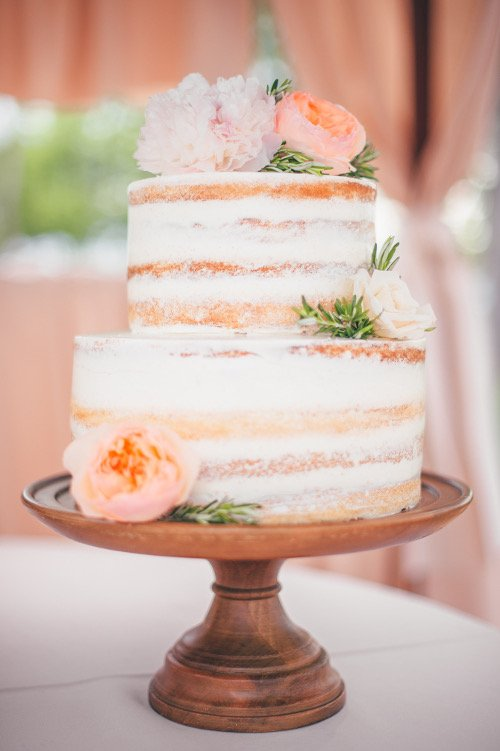 we+you cake floral