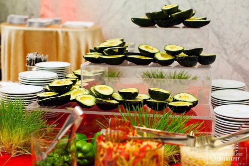 Gils Elegant Catering Avocado display