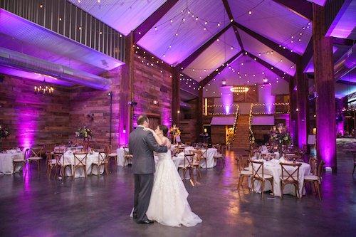 Stone Crest Venue - Purple wedding reception - private last dance