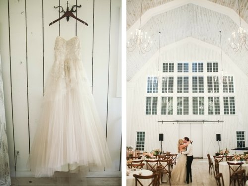 White Sparrow - Ivory Wedding Bridal Gown