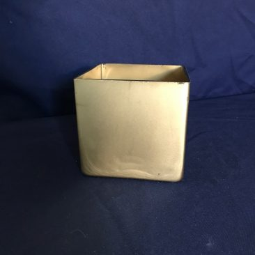 Gold Square Vases (Tier One)
