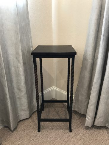 Square Altar Table (Tier One)