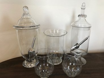 Candy Jars (Collection C) (5 Pieces) (Tier One)