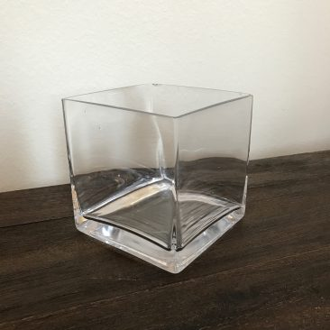 Square Glass Vases (Tier One)
