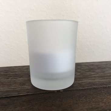 Frosted Votive Candle Holder (Tier One)