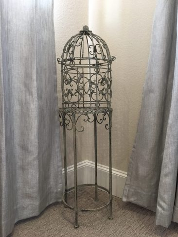 Antique Birdcage with Stand (Tier One)