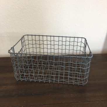 Wire Rectangle Basket (Tier One)