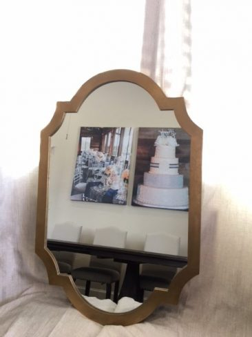 "Large 30x45"" Gold Framed Mirror (Tier Two)"