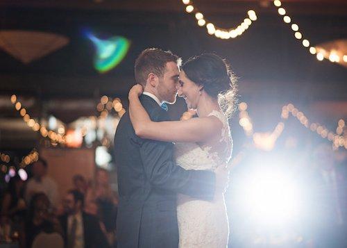 Bride Groom First Dance String Light