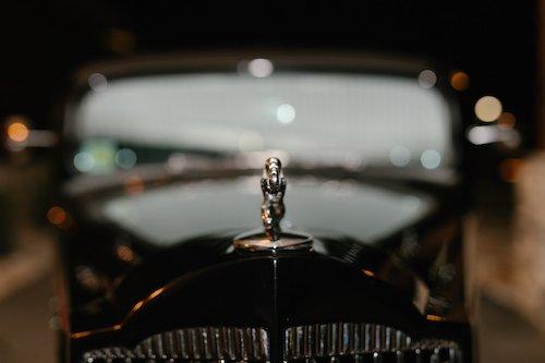 Wedding Vintage Classic Car