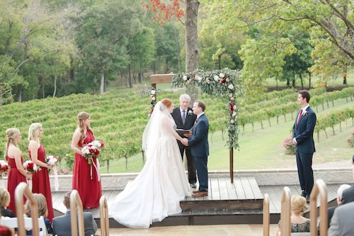 Love Notes - Outdoor Vineyard Ceremony