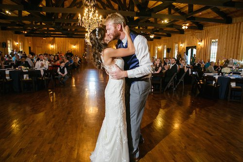 The Springs Denton - Wedding Reception - First Dance - Bride and Groom