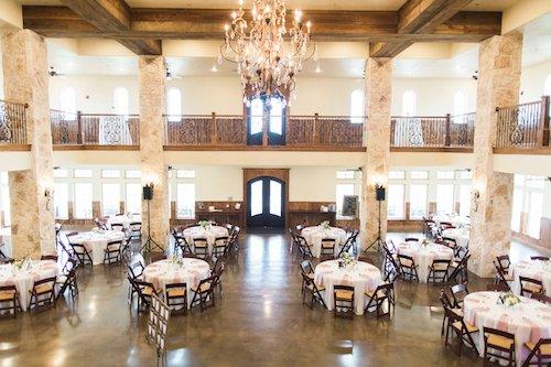 The Springs McKinney - The Lodge - wedding reception - elegant wedding reception