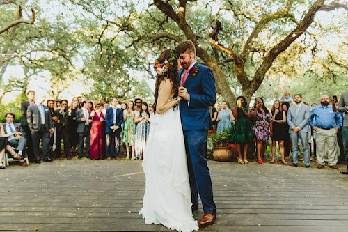 Two Pair Photography Boho Wedding First Dance