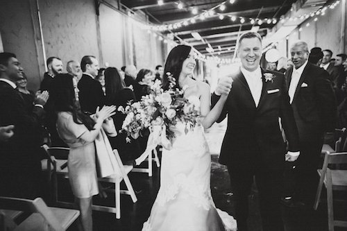 Two Pair Photography Bride and Groom Just Married After Ceremony