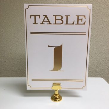 Small Gold Table Harp (Tier One)