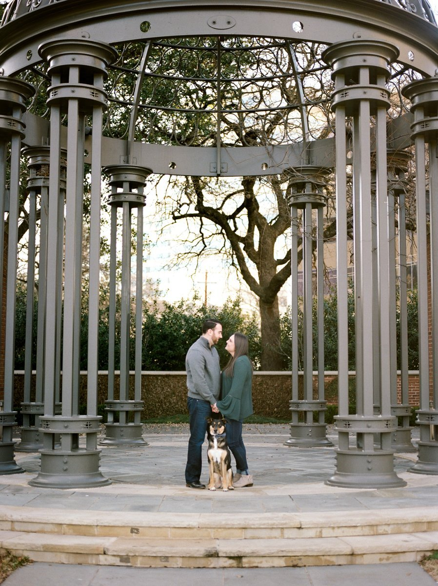 Red Fern Photography - Engagement Ring - Dallas, Texas - Engagement Photos - Engagement Photography - Engagement Photos with Dog
