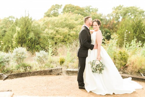 Outdoor Wedding portrait - Bride & Groom - Kylie Crump photography