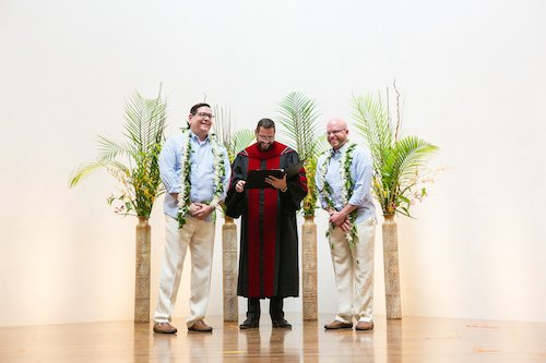 Simple Moments Photography - Surprise wedding ceremony - Hawaiian inspired wedding