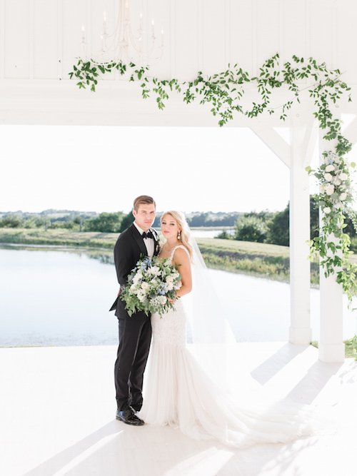 Tenth & Grace Photography - Open Air Chapel - Greenery Wedding