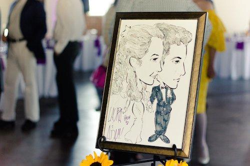 Wedding Caricature Artist - Specialty Wedding Service - Wedding Reception