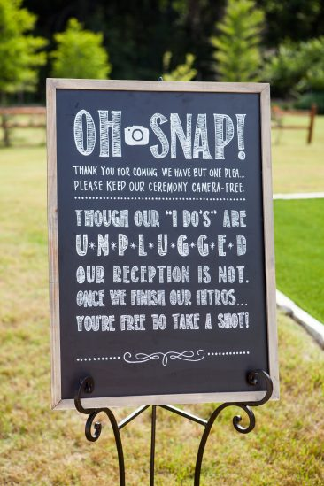 #13: Oh Snap Unpluggled Sign