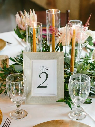 """Champagne 5x7"""" Frame Table Numbers (30) (Tier One)"""