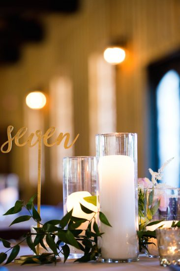 Gold Script Table Numbers (30) (Tier One)