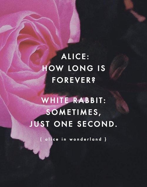 Alice in Wonderland Quote - Wedding Inspiration - Wedding Design - Quote Inspiration - Wedding Planner