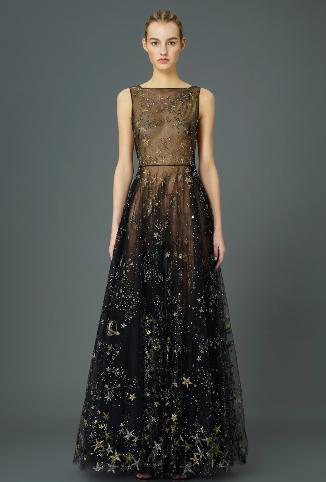 Starry Night Dress - Wedding Inspiration - Wedding Design - Wedding Planner - Valentino Dress