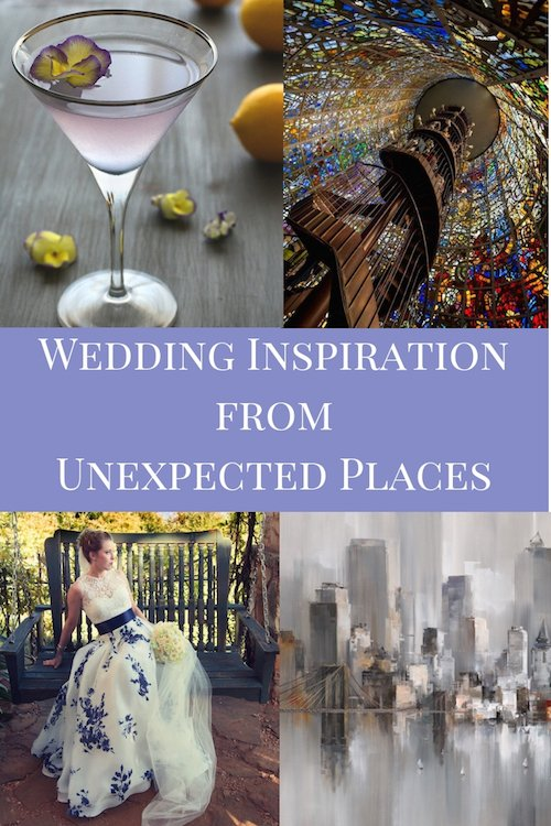Wedding Inspiration from Unexpected Places - Food & Drink Inspiration - Art Inspiration - Travel Inspiration - Fashion Inspiration - Wedding Design - Wedding Planner - Each & Every Detail