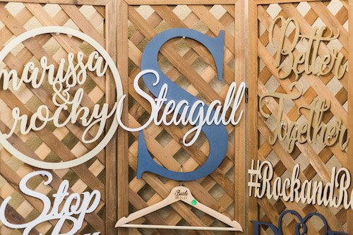 They can personalize anything for you! From their laser cut signs to their monogrammed flasks and cutting boards. You can find the perfect gift for anyone involved in your wedding! They embrace creativity and help you to create a truly unique gift. - The Moose and Owl, Each & Every Detail, Wedding Planner, McKinney, Texas