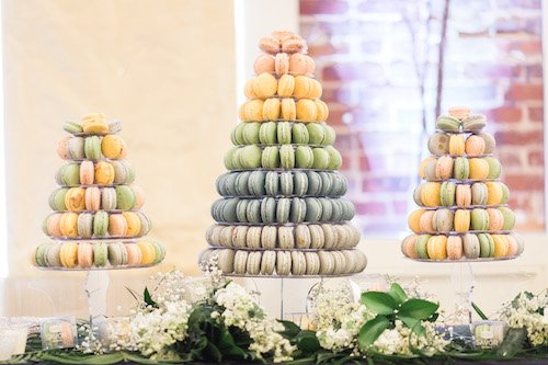 These bright, decadent desserts are almost too beautiful to eat! From macaron towers to cute monogrammed boxes, they can do it all for the perfect, sweet gift. There are so many ways to customize them! - Savor Patisserie, Each & Every Detail, Wedding Planner, McKinney, Texas