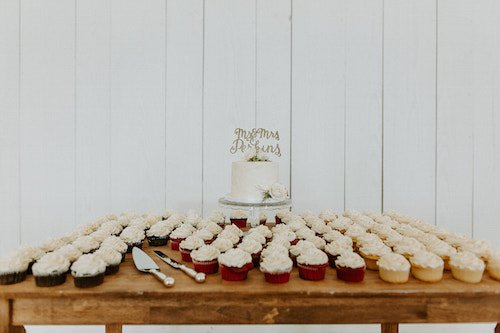 The reception featured delicious food from the 2 food trucks on site, a sweet treat from Steel City Pops, some fantastic dance moves, and a romantic sparkler exit! - McKinney Texas - The Grand Ivory - Wedding Reception - Wedding Planner - Each & Every Detail