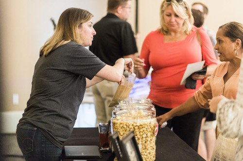 Find the biggest variety of flavored popcorn whether it be savory or sweet. Your wedding guests can be greeted with a welcome bag with a delicious snack! Plus they have quite the selection of candy for those of you that want to treat your guests to a candy bar at your reception.- Mom and Popcorn, Each & Every Detail, Wedding Planner, McKinney, Texas