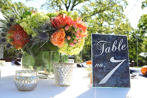 The fact of the matter is that the cost of a wedding is totally based on what you want and what your priorities are.  There's a great deal of difference between the way a $25,000 wedding for 250 guests looks versus a wedding for 50 guests at the same budget point.  To help illustrate this point, we put together three sample reception tables with full wedding budgets attached, so that you can get a sense of expected prices! - Standard Table - Navy and Orange Tablescape - Outdoor Wedding - Spring Wedding Table - Wedding Planner - Each & Every Detail